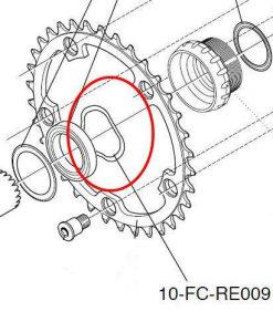 カンパニョーロ FC-RE009 crinkle thrust washer