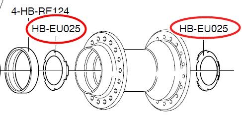 CAMPAGNOLO HB-EU025 Grease Shield 1個入り