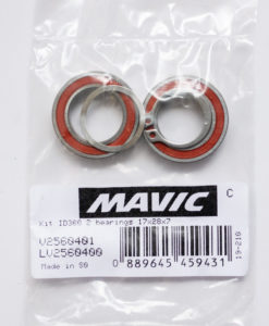 MAVIC KIT ID360 2 BEARINGS 17×28×7 (LV2560400)