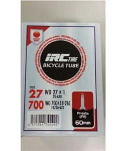 IRC 700x18-26 チューブ (仏バルブ 60mm)