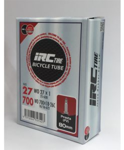 IRC 700x18-26 チューブ (仏バルブ 80mm)