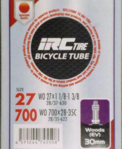 IRC 700x28-35 チューブ (英バルブ 30mm)