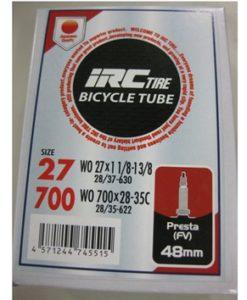 IRC 700x28-35 チューブ (仏バルブ 48mm)