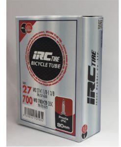 IRC 700x28-35 チューブ (仏バルブ 80mm)