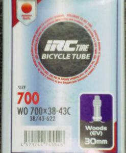 IRC 700x38-43 チューブ (英バルブ 30mm)