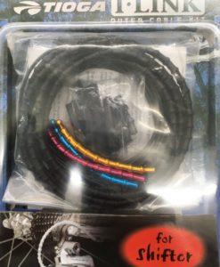 《数量限定SALE》TIOGA I-LINK シフターケーブルセット ブラック