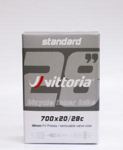 Vittoria STANDARD BUTYL TUBE 700×20/28C