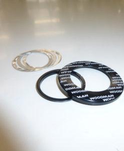 WOODMAN Axis IC(カンパサイズ)/ICR(ケーンクリークサイズ) ヘッド用薄型3mmダストカバーセット