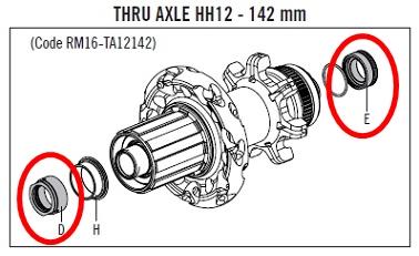 CAMPAGNOLO RM16-TA12142 Option kit