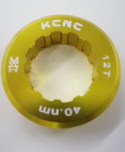 KCNC カンパ9/10速スプロケット用アルミロックリング 12Tトップ用