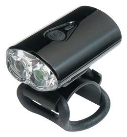 GIZA CG-211W  USB充電式フロントライト(ブラック/LPF12000)