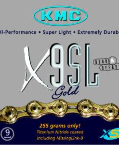 KMC X9SLゴールド